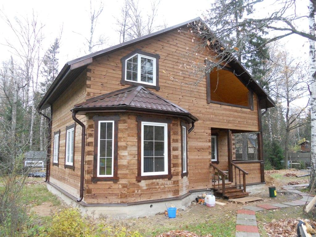Дизайн дома с эркером фото